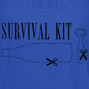 Survival Kid Bierflasche Shirt - Frauen Tank Top von Bella