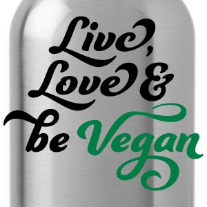 vegan T-shirts - Drinkfles