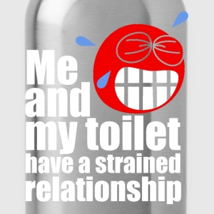 Strained Relationship T-Shirts - Water Bottle
