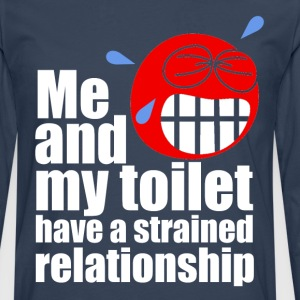 Strained Relationship T-Shirts - Men's Premium Longsleeve Shirt