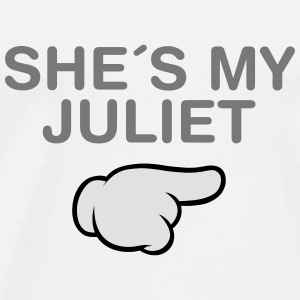 She´s My Juliet (Comic Hand) Pullover & Hoodies - Männer Premium T-Shirt