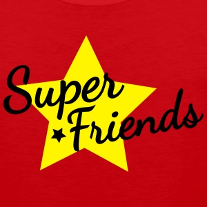 super friends súper amigos Camisetas - Tank top premium hombre