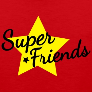super friends amis super Tee shirts - Débardeur Premium Homme
