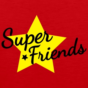 super friends super venner Vesker & ryggsekker - Premium singlet for menn