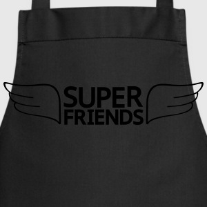 super friends súper amigos Camisetas - Delantal de cocina