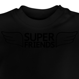 super friends super venner T-shirts - Baby T-shirt