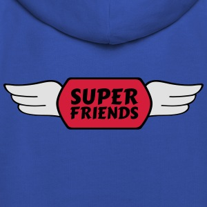 super friends amis super Tee shirts - Pull à capuche Premium Enfant