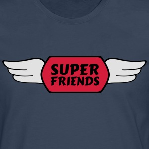super friends super venner T-shirts - Herre premium T-shirt med lange ærmer
