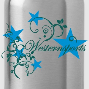 Westensports with Tribal and stars Long Sleeve Shirts - Water Bottle