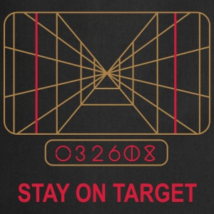 Stay on Target T-Shirts - Cooking Apron