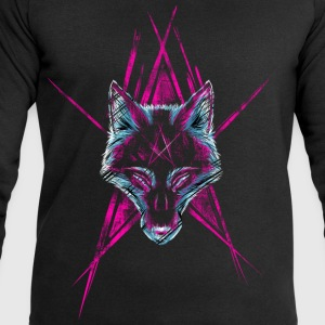 Black Wolf Star T-Shirts - Men's Sweatshirt by Stanley & Stella