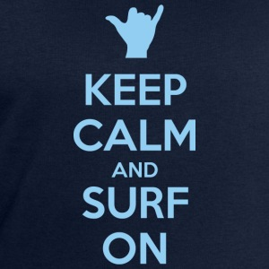 Keep Calm and Surf on Camisetas - Sudadera hombre de Stanley & Stella