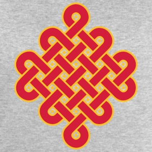 Infinity Buddhism Tibetan endless knot Celtic T-Shirts - Men's Sweatshirt by Stanley & Stella