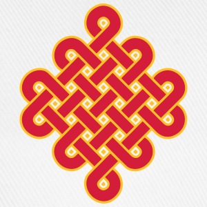 Infinity Buddhism Tibetan endless knot Celtic T-Shirts - Baseball Cap