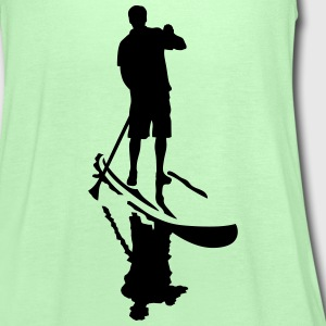 stand up paddling T-Shirts - Women's Tank Top by Bella