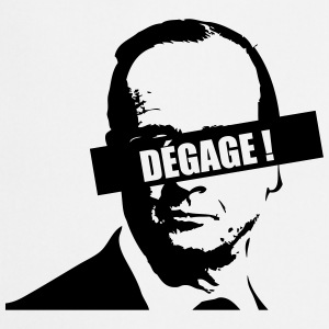 Hollande Dégage ! Badges - Tablier de cuisine