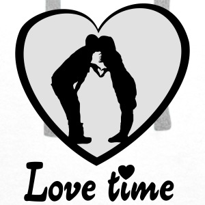 Love time Tilbehør - Premium hettegenser for menn