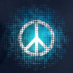 Peace Symbol Love Harmony Freedom Dots Summer T-Shirts - Men's Sweatshirt by Stanley & Stella