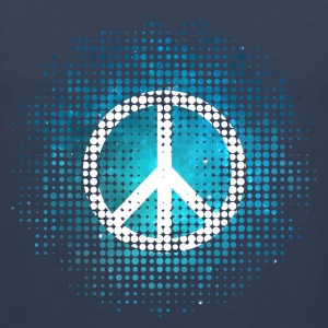 Peace Symbol Love Harmony Freedom Dots Summer T-Shirts - Männer Premium Tank Top