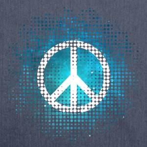 Peace Symbol Love Harmony Freedom Dots Summer T-Shirts - Schultertasche aus Recycling-Material