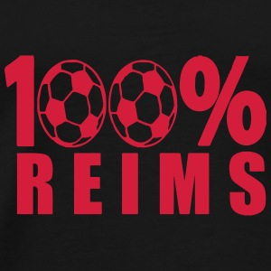 100 % Reims Football Parapluies - T-shirt Premium Homme
