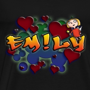 girls_name_012014_emily_a Pullover & Hoodies - Männer Premium T-Shirt