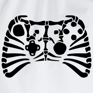 X-Box Controller Fossil skeleton T-Shirts - Drawstring Bag