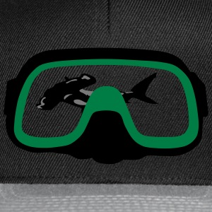 diving Mask T-shirts - Snapback Cap