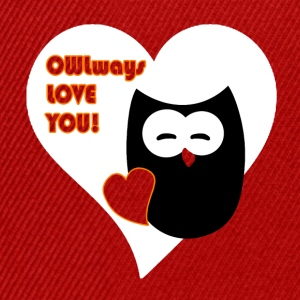 owlways love you T-shirts - Snapback cap