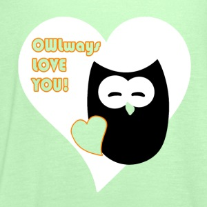 owlways love you Shirts - Women's Tank Top by Bella