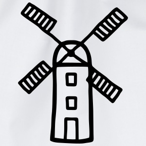 Wind Mill - Wind Energy T-Shirts - Drawstring Bag