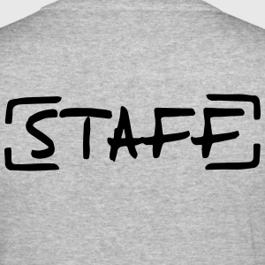 Staff Sweatshirts - Herre Slim Fit T-Shirt