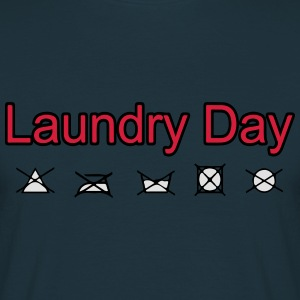 laundry_day Sweaters - Mannen T-shirt