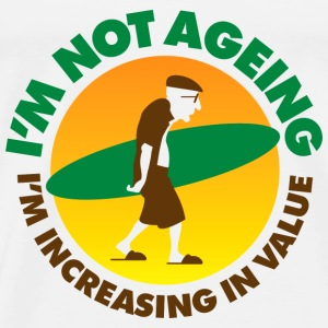 Im Not Ageing (dd)++2014 Long sleeve shirts - Men's Premium T-Shirt