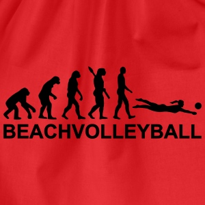 Evolution Beachvolleyball T-Shirts - Turnbeutel