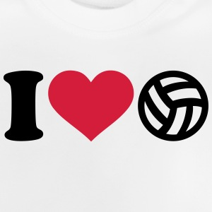 I love Volleyball T-Shirts - Baby T-Shirt