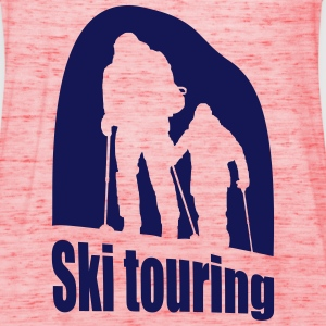 ski touring T-Shirts - Women's Tank Top by Bella