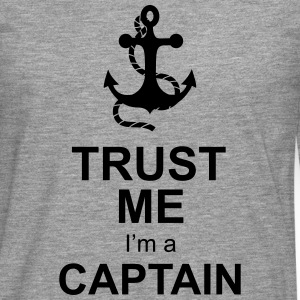 captain anchor T-Shirts - Men's Premium Longsleeve Shirt