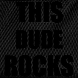Dude Rocks T-Shirts - Kinder Rucksack