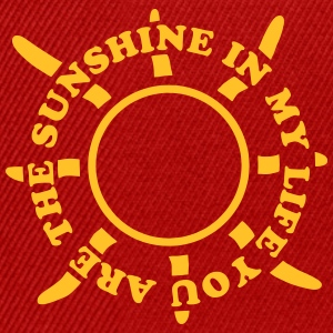 Sunshine in my life Tee shirts - Casquette snapback
