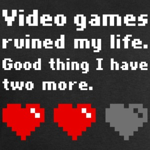 Video games ruined my life (dark) T-shirts - Sweatshirt herr från Stanley & Stella