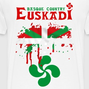 euskadi pays basque 09 Sweat-shirts - T-shirt Premium Homme