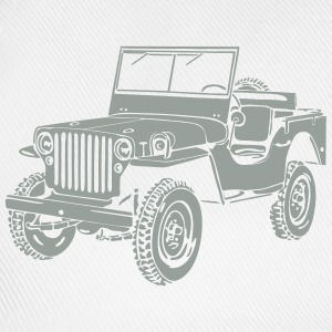 Jeep Willys Overland Offroad 4x4 T-Shirt T-Shirts - Baseballcap