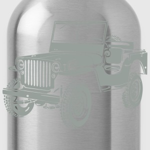 Jeep Willys Overland Offroad 4x4 T-Shirt T-Shirts - Water Bottle