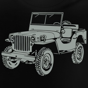 Jeep Willys Overland Offroad 4x4 T-Shirt T-Shirts - Baby T-Shirt