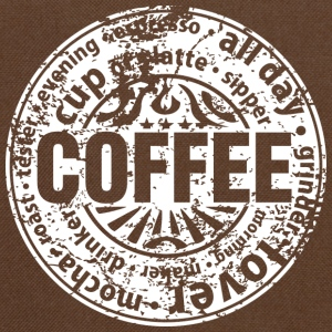 Coffee lover (worn-out) Tee shirts - Sac à bandoulière