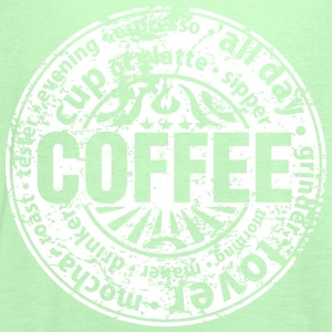 Coffee lover (worn-out) T-shirts - Vrouwen tank top van Bella