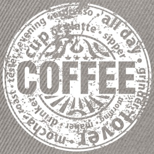 Coffee lover (worn-out) Camisetas - Gorra Snapback