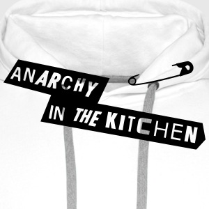 Anarchy In The Kitchen Forklær - Premium hettegenser for menn