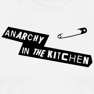 Anarchy In The Kitchen  Aprons - Men's Premium T-Shirt
